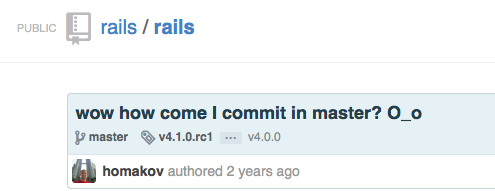 railscommit